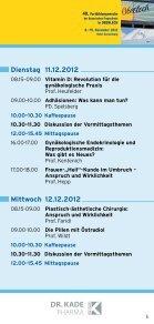 Programm - Fortbildungswoche Oberlech in Lech/Arlberg - Seite 5