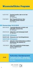 Programm - Fortbildungswoche Oberlech in Lech/Arlberg - Seite 6