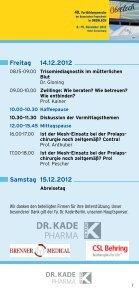 Programm - Fortbildungswoche Oberlech in Lech/Arlberg - Seite 7