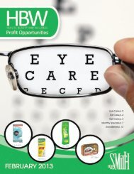 Eye Care p. 2 Ear Care p. 4 Hair Care p. 4 Monthly ... - HD Smith