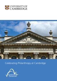 Text Pages.indd - University of Cambridge Campaign