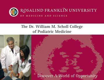 Rosalind franklin university - American Association of Colleges of ...