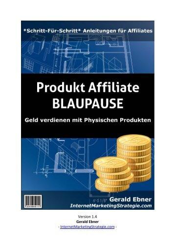 Version 1.4 Gerald Ebner - InternetMarketingStrategie.com -