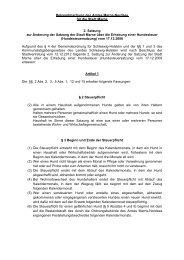 2. Satzung zur Änderung der Satzung der Stadt