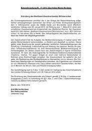 Gründung des Breitband-Zweckverbandes Dithmarschen