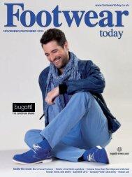 NOVEMBER/DECEMBER 2012 www.footweartoday.co.uk