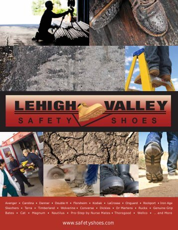 Our Catalog - Lehigh Valley Safety Shoes