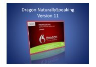 Dragon NaturallySpeaking Version 11