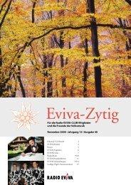 Eviva-Zytig - Radio Eviva