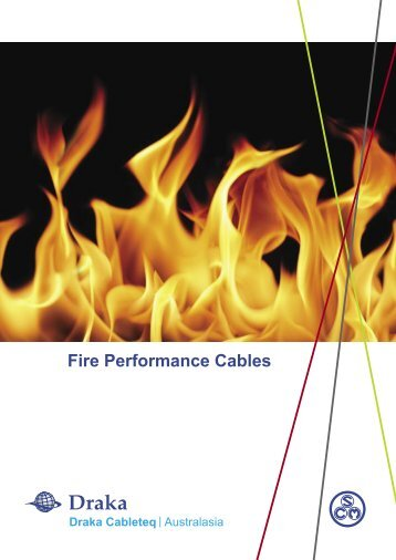 Fire Performance Cables - nr engineering co.,ltd.