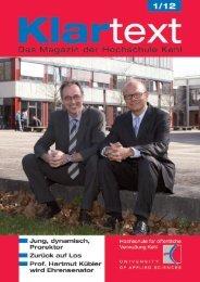 Prof. Dr. Kay-Uwe Martens gibt Amt als Prorektor ab - Hochschule Kehl