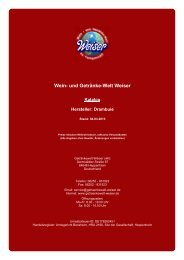 Katalog für Hersteller: Drambuie - The Whisky Trader