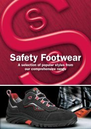 Safety Footwear - Total Safety Footwear by Strathallan