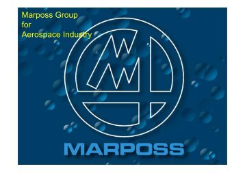 Marposs Product Line for Aerospace Nov10
