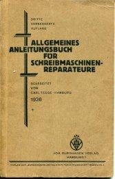 Allgemeines Anleitungsbuch für Schreibmaschinen ... - Seite