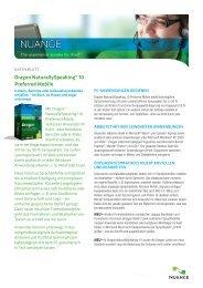Dragon NaturallySpeaking® 10 Preferred Mobile - Waltersoftware