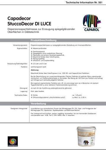 Technische Information Nr. 561 - Caparol