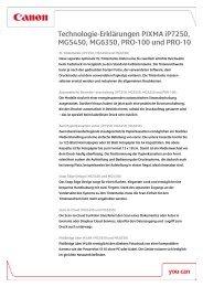 Technologie-Erklärungen [PDF, 144 KB] - Canon