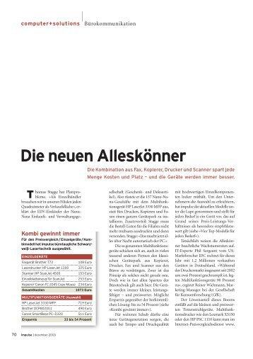 Die neuen Alleskönner - it-journalist.de