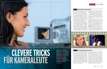 PRAXIS Besser Filmen] Trick 1 Richtig filmen bei Gegenlicht Trick 2 ...