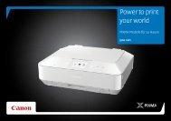 Power to print your world - Canon Deutschland
