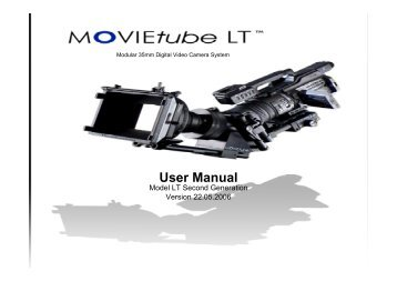 Movietube LT Manual - Hollywood Studio Rentals