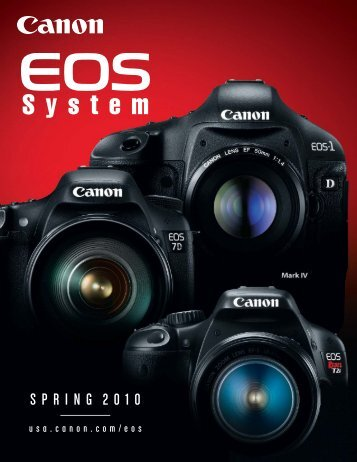 Canon 7D Brochure - ARRI CSC