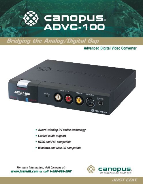 ADVC-100 DRIVER FOR WINDOWS 7