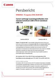Canon HD Camcorder LEGRIA HF R16 Specification Sheet