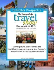 Exhibitor Prospectus - The Boston Globe Travel Show