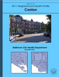 Canton - Baltimore City Health Department
