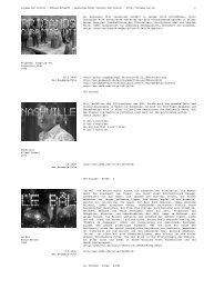 Cinéma IAC Archiv · Tobias Erhardt · Gestaltericher Vorkurs IAC ...