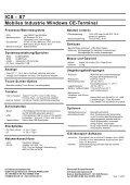 X7 Mobiles Industrie Windows CE-Terminal - ICS Identcode ... - Seite 2