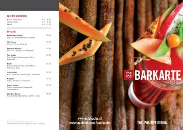 Barkarte .PDF - Cha-cha