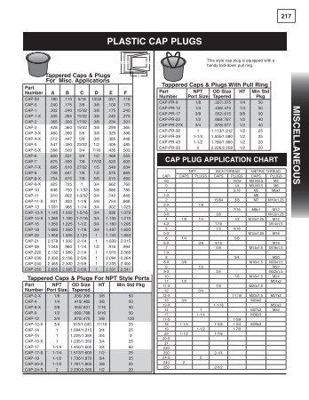 PLAStIC CAP PLUGS MISC e LLA neo US - Maxx Hydraulics LLC.
