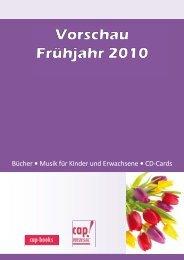 Bücher ͻ Musik für Kinder und Erwachsene ͻ CD-Cards - cap-music