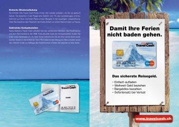 Travel Cash Flyer (PDF)