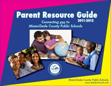 Parent Resource Guide - Community Engagement - Miami-Dade ...