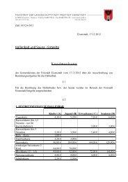 Hallenbad und Sauna - Entgelte, Verordnung - Eisenstadt
