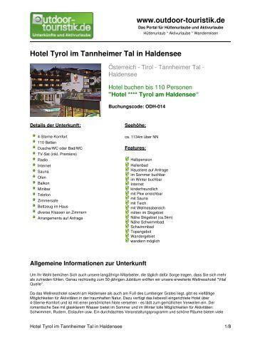 Tannheimer Tal Gran Hotel