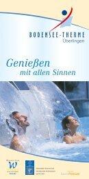 Genießen - Bodensee-Therme Überlingen