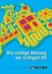 Die richtige Heizung am richtigen Ort - Energie-Umwelt.ch