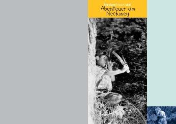 Broschüre Neckiweg - Hemberg Tourismus