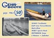 Katalog Gehr-Boote 2013 ca. 6,0 MB