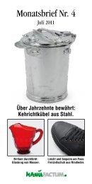 Über Jahrzehnte bewährt: Kehrichtkübel aus Stahl. - Manufactum