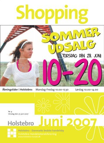UDSALG - Holstebro Handelsstandsforening