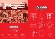 allgemeines fertigungsprogramm - Rueger