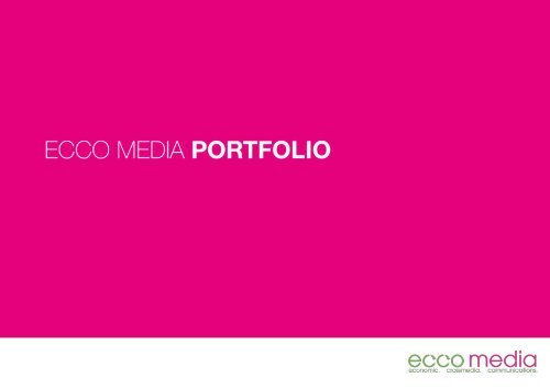 ECCO Media // Portfolio