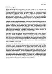 Luftsicherheitsgebühren - des Bundesministerium des Innern - Bund ...