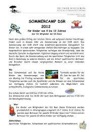 programm - Deutsche Schule Rom